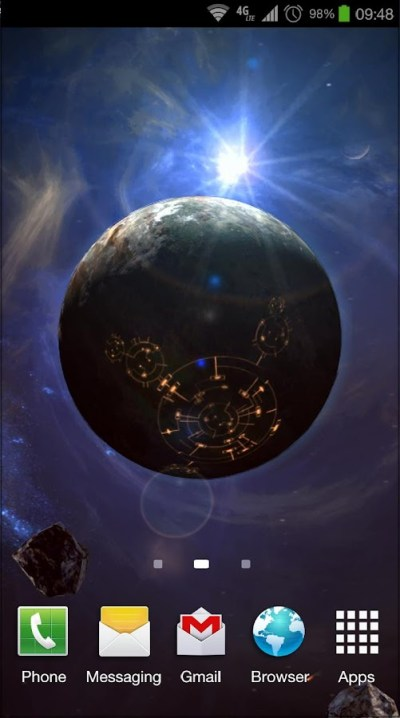 Space Symphony 3D Pro LWP - Android Apps on Google Play
