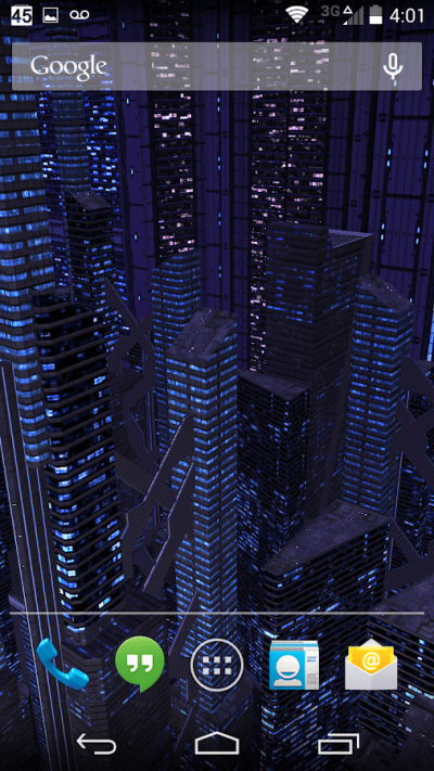 3D Live Wallpaper Dark City Pro v2.0 Apk | APk4you.com