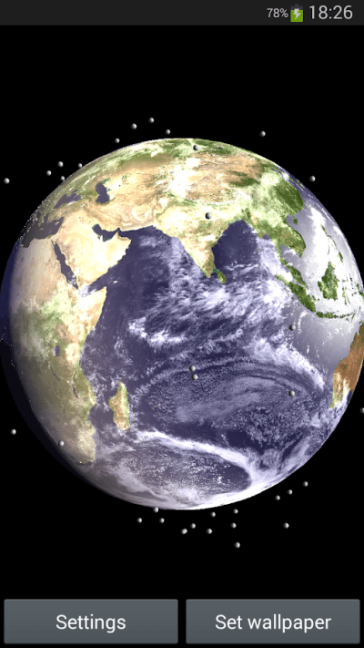 Earth Satellite Live Wallpaper - Android Apps on Google Play