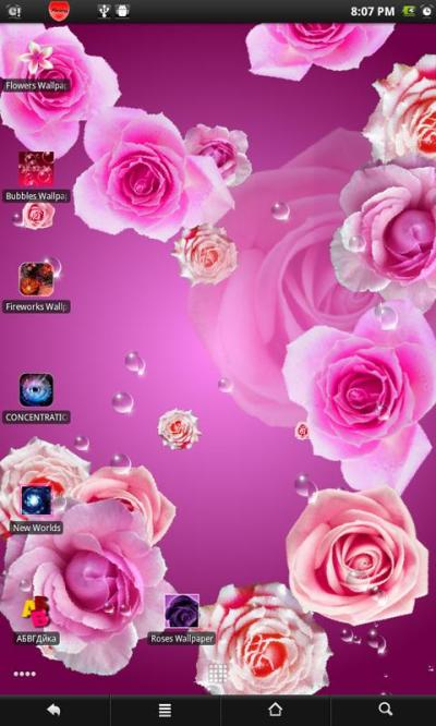 Roses live wallpaper - Android Apps on Google Play