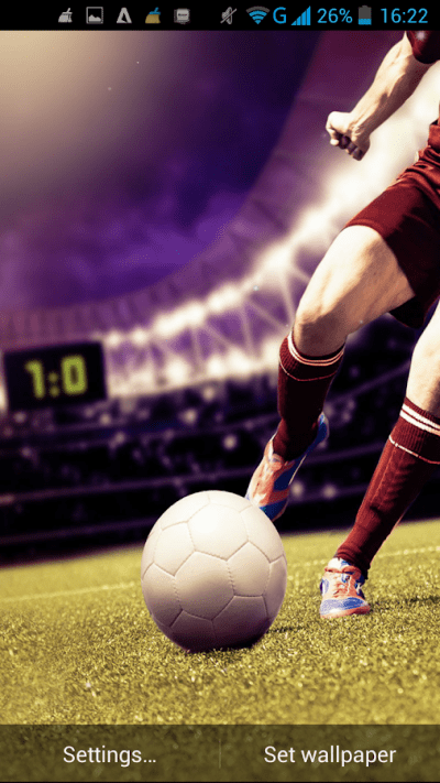 Football Live Wallpaper - Android Apps on Google Play