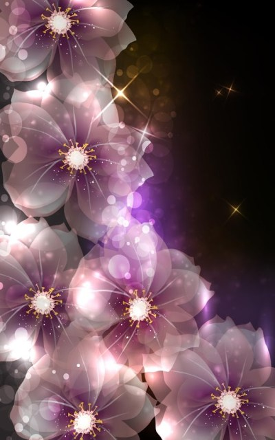 Glowing Flowers Live Wallpaper - Android Apps on Google Play