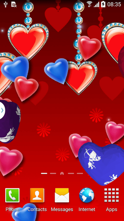 3D Hearts Live Wallpaper Free - Android Apps on Google Play