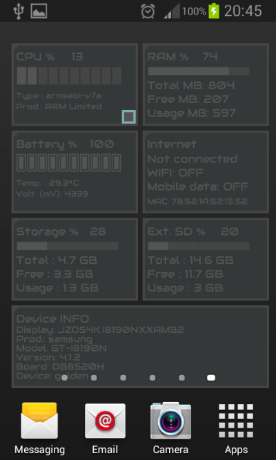 Device Info Live Wallpaper - Android Apps on Google Play