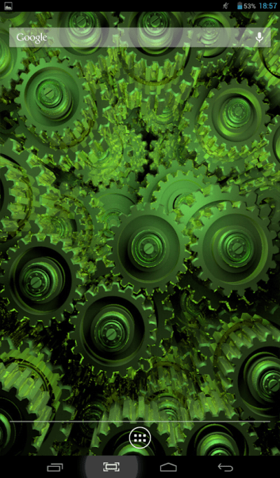 Golden Gears Live Wallpaper - Android Apps on Google Play