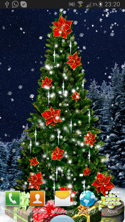 Christmas Tree Live Wallpaper – Android-Apps auf Google Play