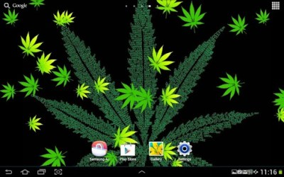 Weed Live Wallpaper (android) | AppCrawlr