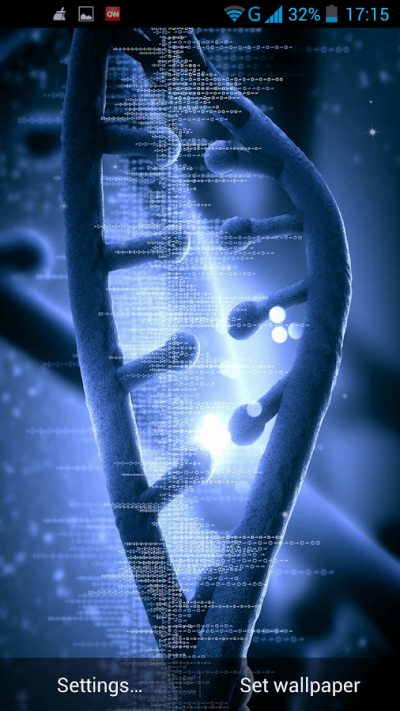 DNA Live Wallpaper - Android Apps on Google Play
