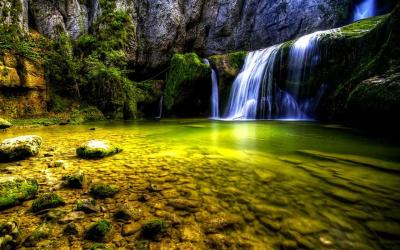 Download the 5D Waterfall Android Apps On NoneSearch.com