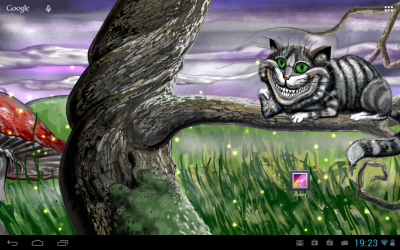 Cheshire Cat Live Wallpaper - Android Apps on Google Play