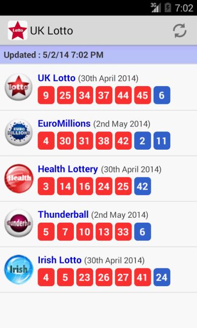 UK Irish Lotto & EuroMillions - Android Apps on Google Play