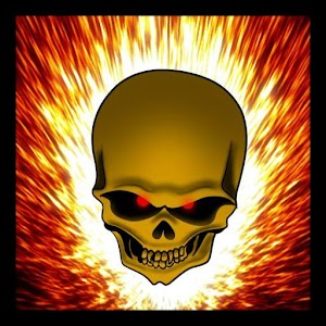 Download Flaming Skull Live Wallpaper for PC