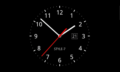 Analog Clock Live Wallpaper-7 - Android Apps on Google Play