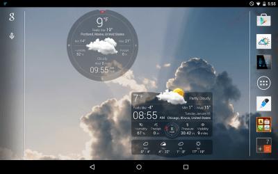 Weather Live with Widgets Free - screenshot