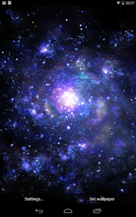 Galactic Core Live Wallpaper - Android Apps on Google Play