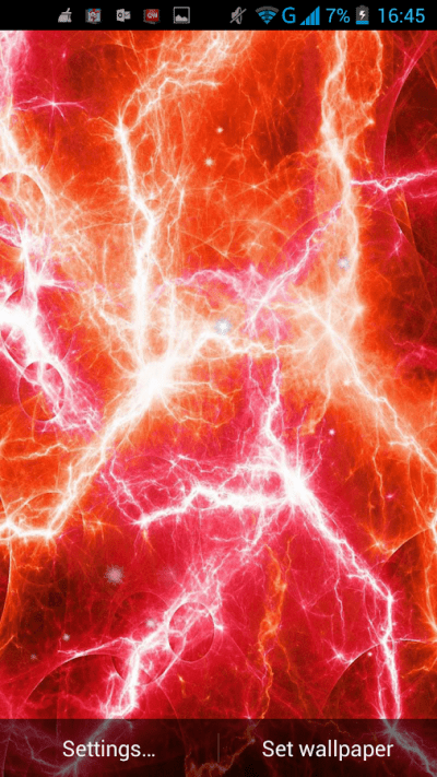 Electric Plasma Live Wallpaper - Android Apps on Google Play
