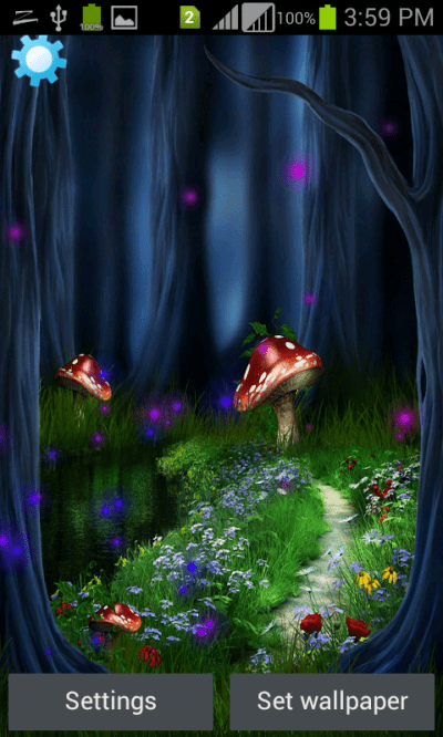 Fantasy Magic touch Touch Live Wallpapers - Android Apps on Google Play
