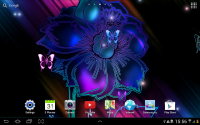Neon Butterfly Live Wallpaper - Android Apps on Google Play