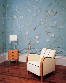 Chamomile & Peppermint: Love Affair With Wallpaper...