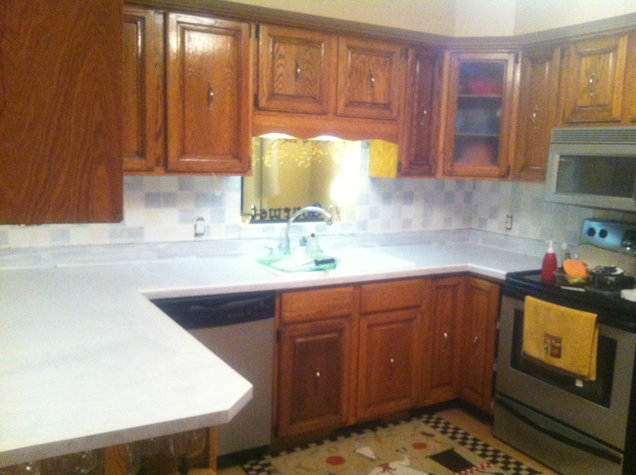 finally the kitchen countertop post white kitchen countertops kitchen2