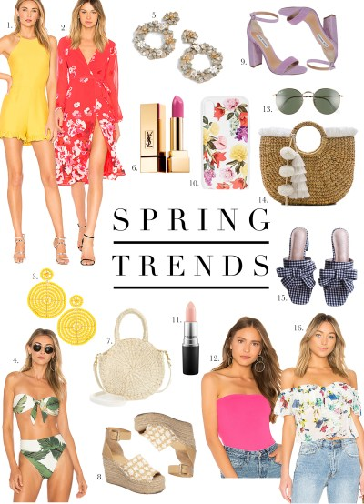Top Spring Trends 2018