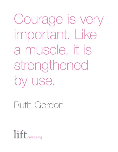Courage Is Very