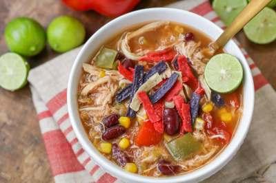 Delicious Mexican Soup Recipe - 5 Minutes to Prep!   Lil' Luna