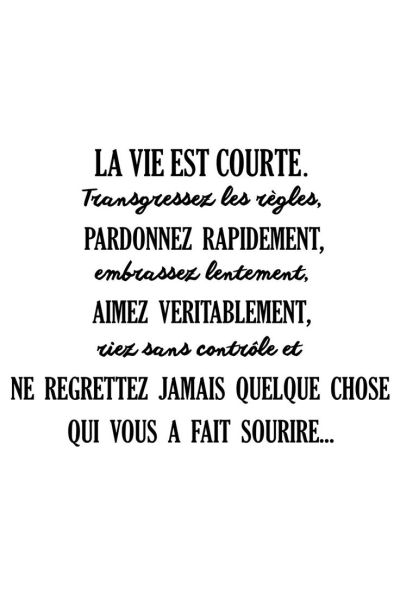 Citation - Vente AMBIANCE STICKER / 23259 / Lettrage ...