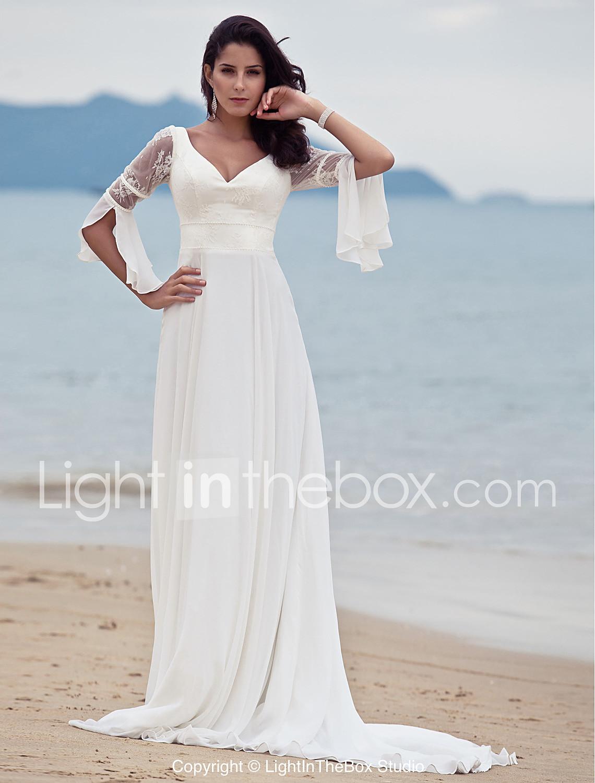 wedding dresses discounted wedding dresses LAN TING BRIDE A line Wedding Dress Classic Timeless Chic Modern Vintage