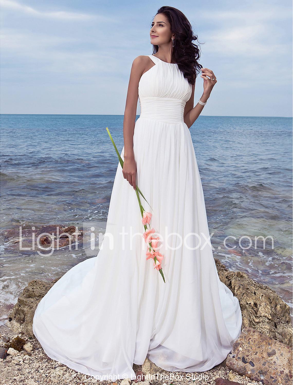 wedding dresses discounted wedding dresses LAN TING BRIDE A line Wedding Dress Classic Timeless Chic Modern Simply