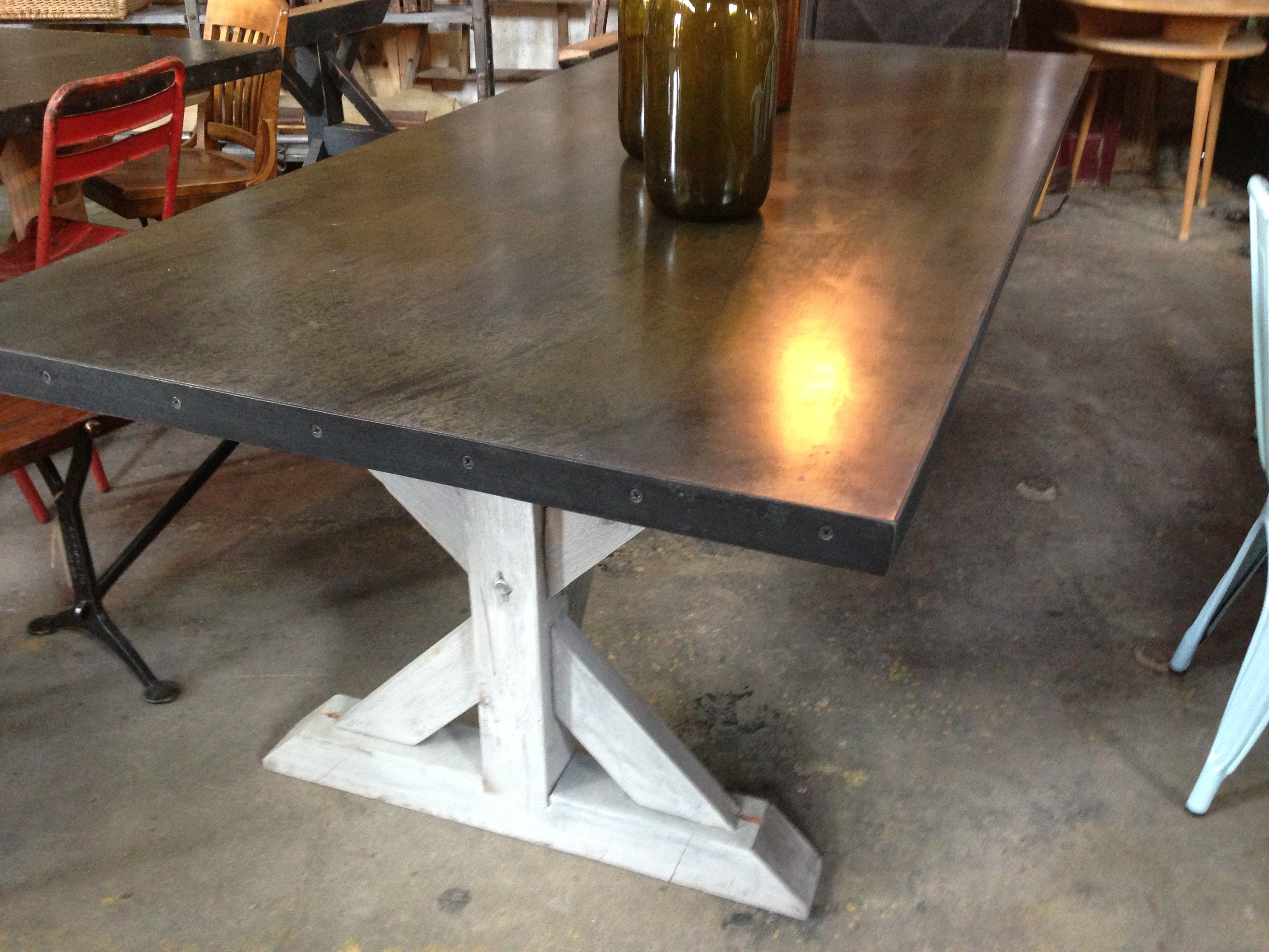 rustic square dining table farmhouse kitchen tables sweet pickins farm table dsc sweet pickins farm table