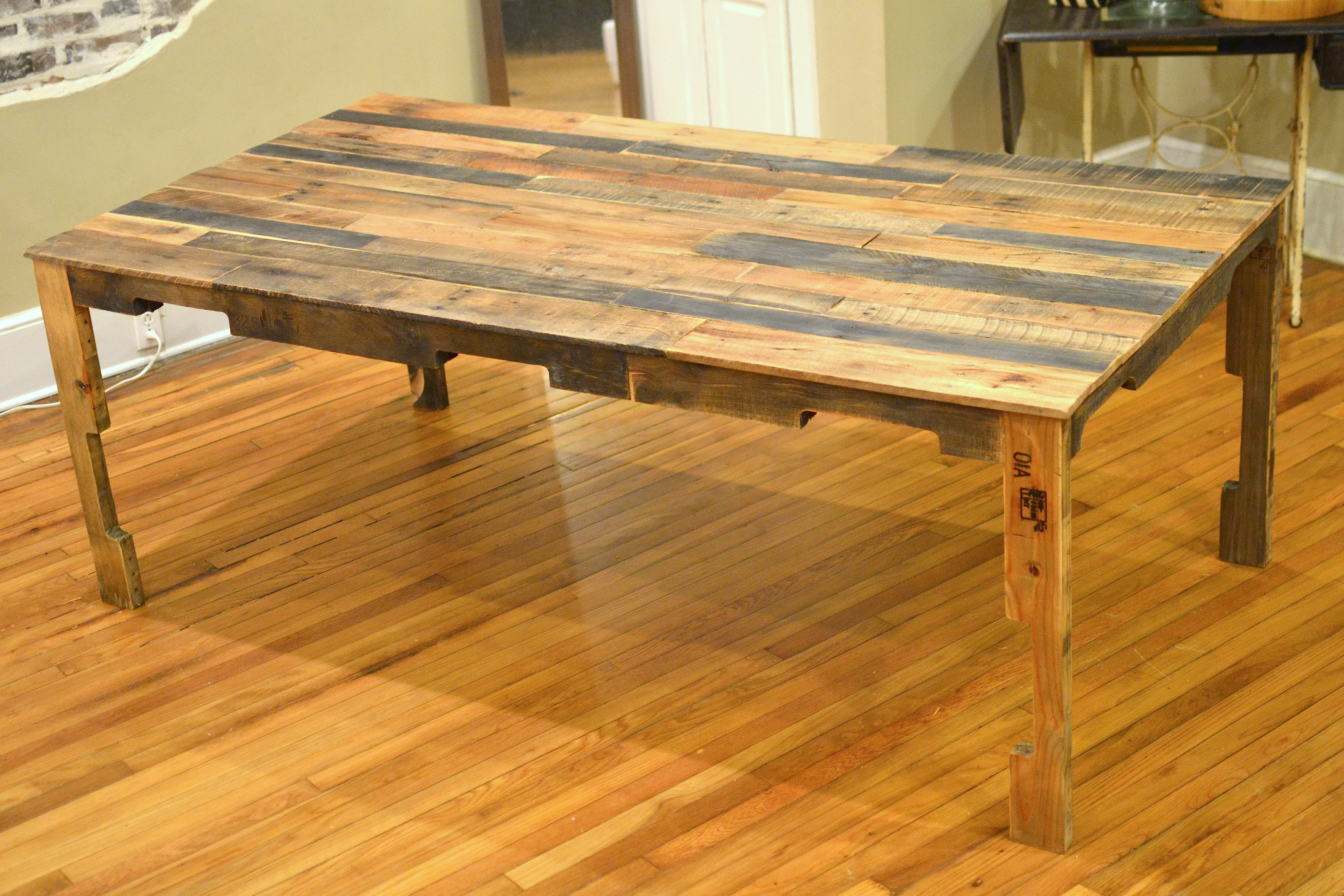 dining table construction plans diy kitchen table plans