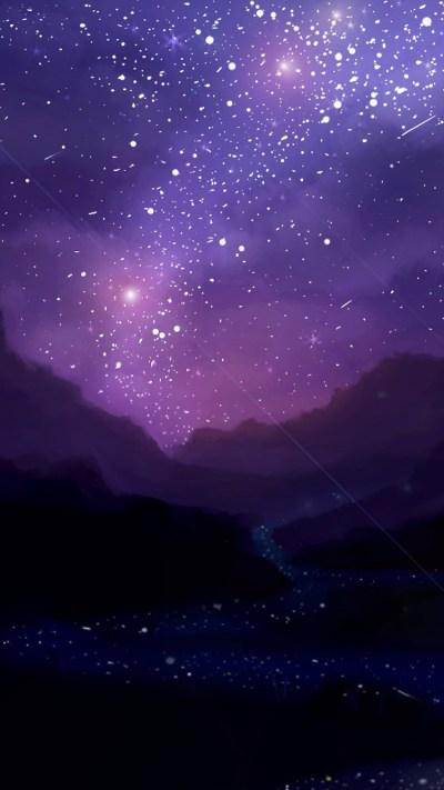Night Iphone Stars Wallpaper | 2019 Live Wallpaper HD