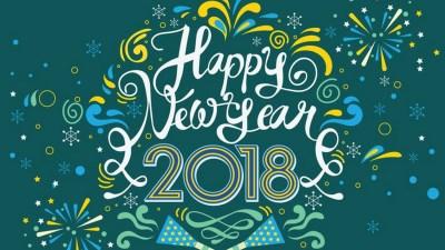 Full size Happy New Year 2018 Wallpaper 2018 - Live Wallpaper HD