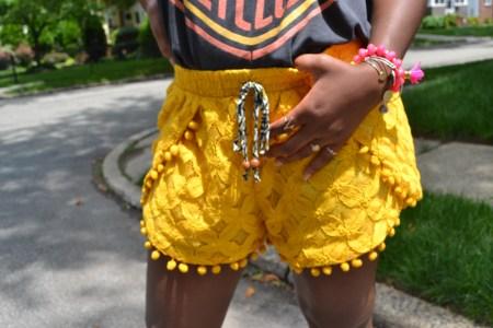 Yellow Shorts Target