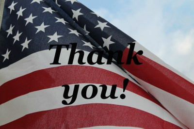 Veteran's Day – Thank you for your service. – Loraine D. Nunley, Author