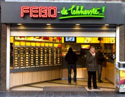 Eat like a local in Amsterdam: FEBO - Love & Passport