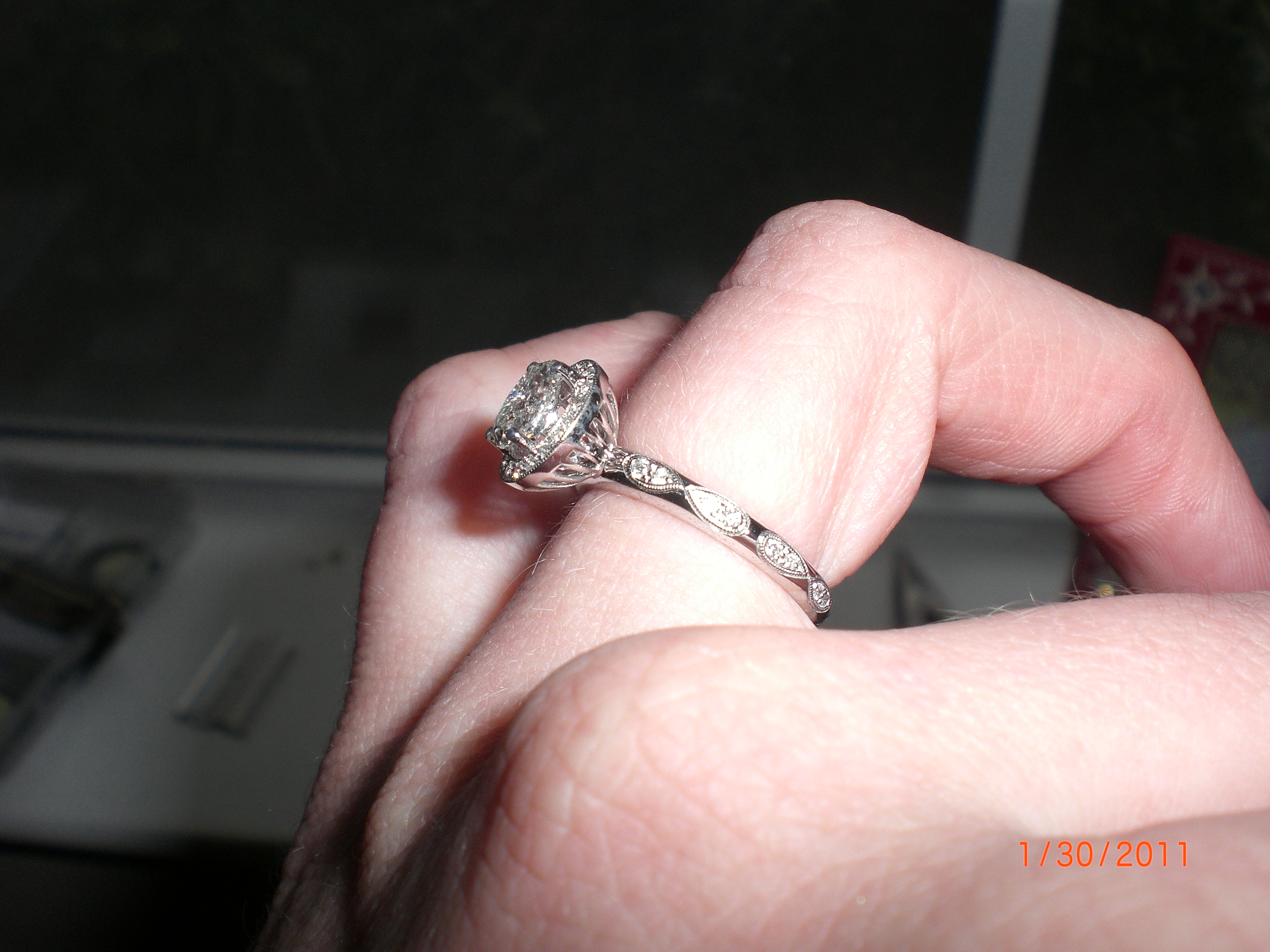 infinity infinity wedding band My wedding band has the infinity symbol circling the whole ring Inside the top infinity are 2 stones one aquamarine and one ruby our birthstones