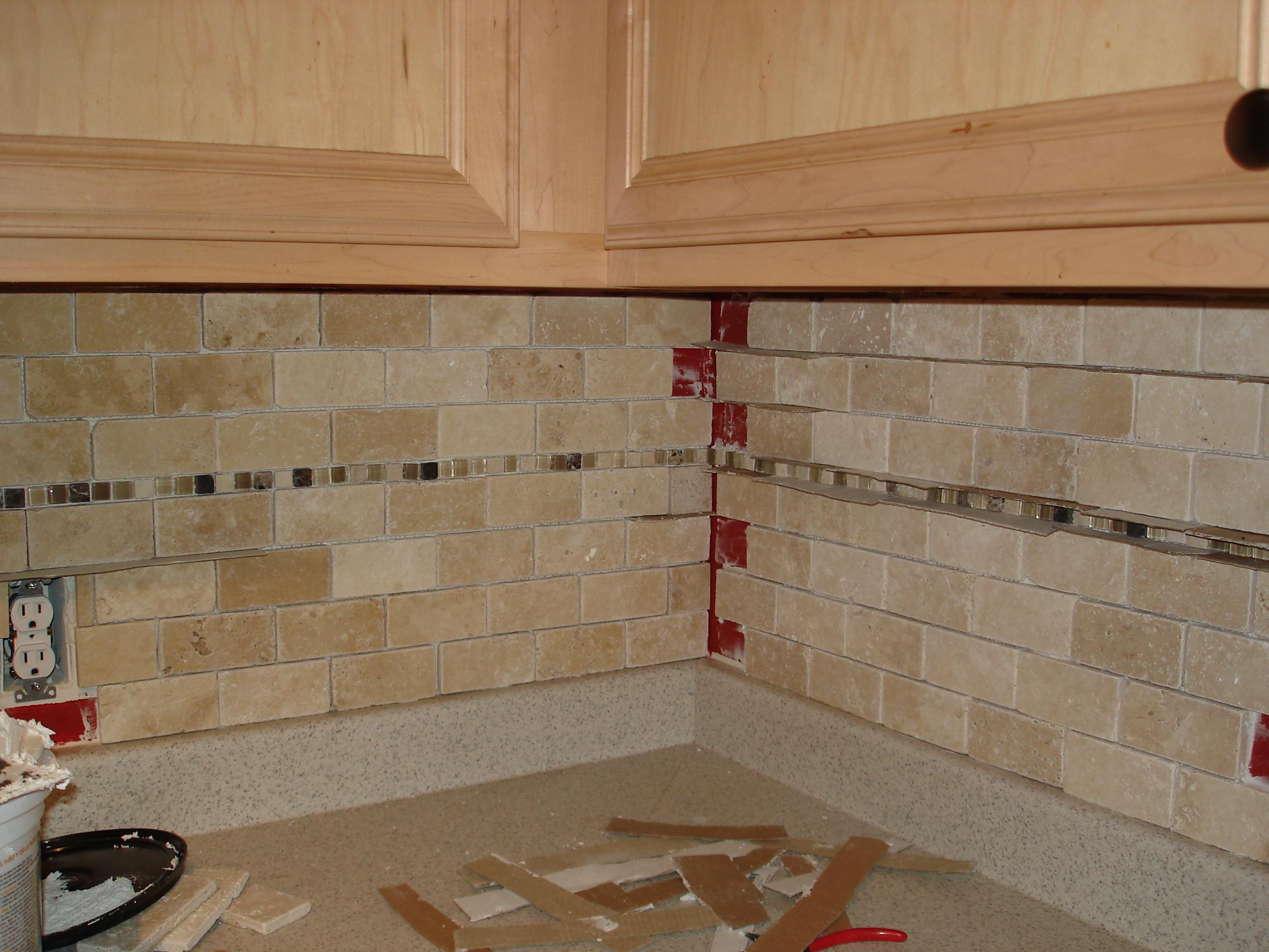 tutorial tile kitchen back splash mosaic tile kitchen backsplash