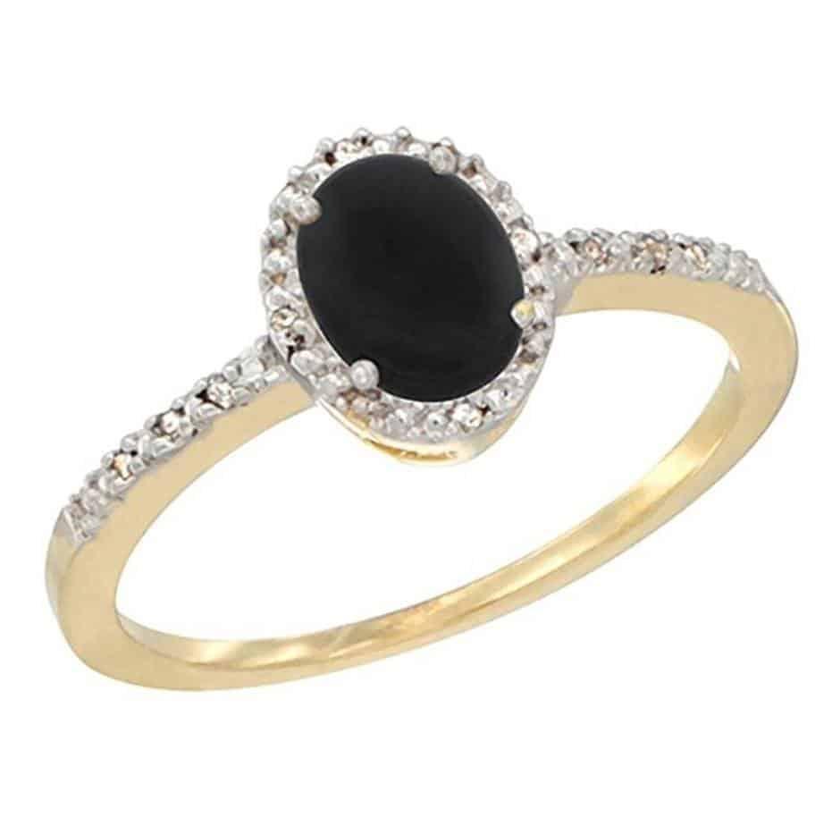 australian opal inlay and black onyx inlay 14k gold ring onyx wedding band Product Description