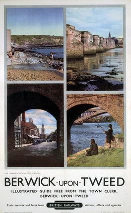 'Berwick-upon-Tweed', BR poster, 1948-1965. | memoryprints.com | High quality art prints