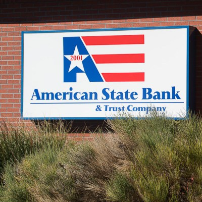 American State Bank & Trust in Garden City, KS - Luminous Neon Art & Sign Systems | Kansas and ...