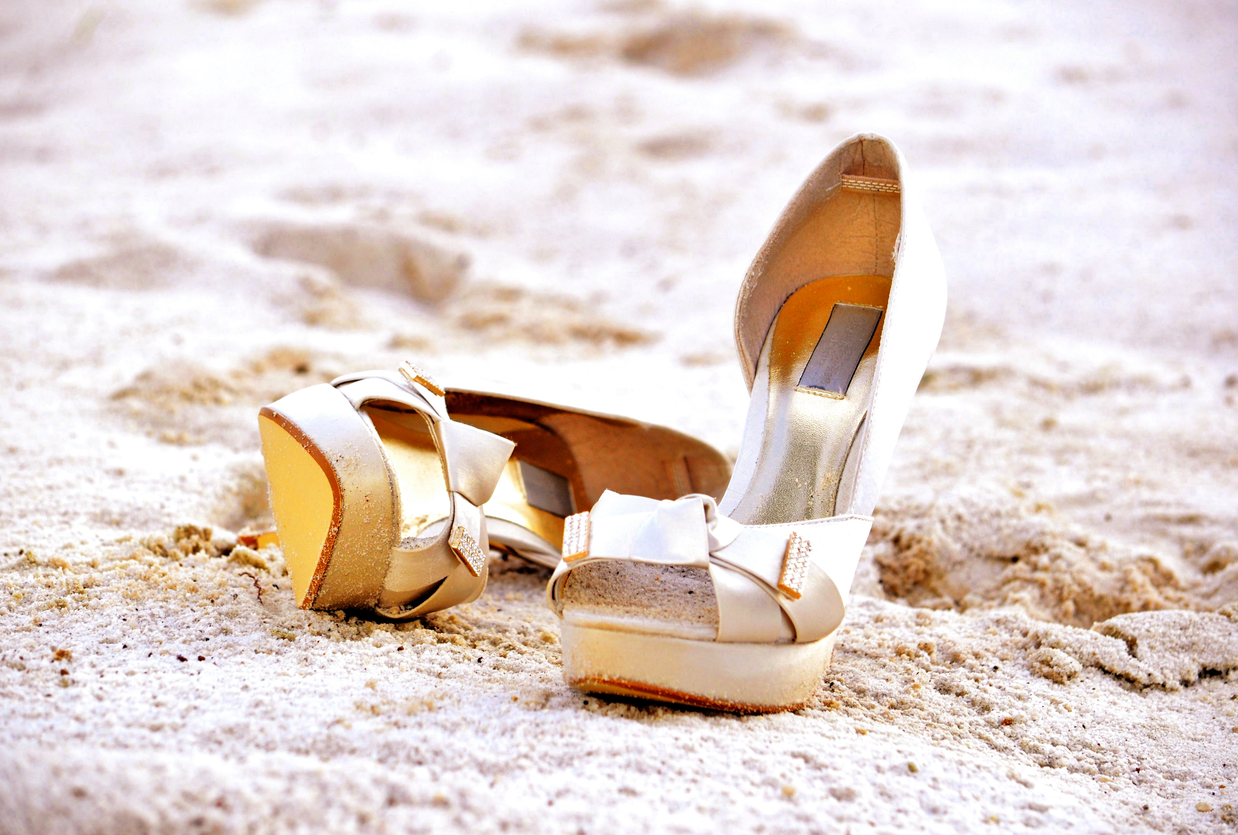 how to choose your perfect beach wedding shoes beach wedding shoes Every woman knows that shoes can either make or break an outfit and that is no different when it comes to your wedding day