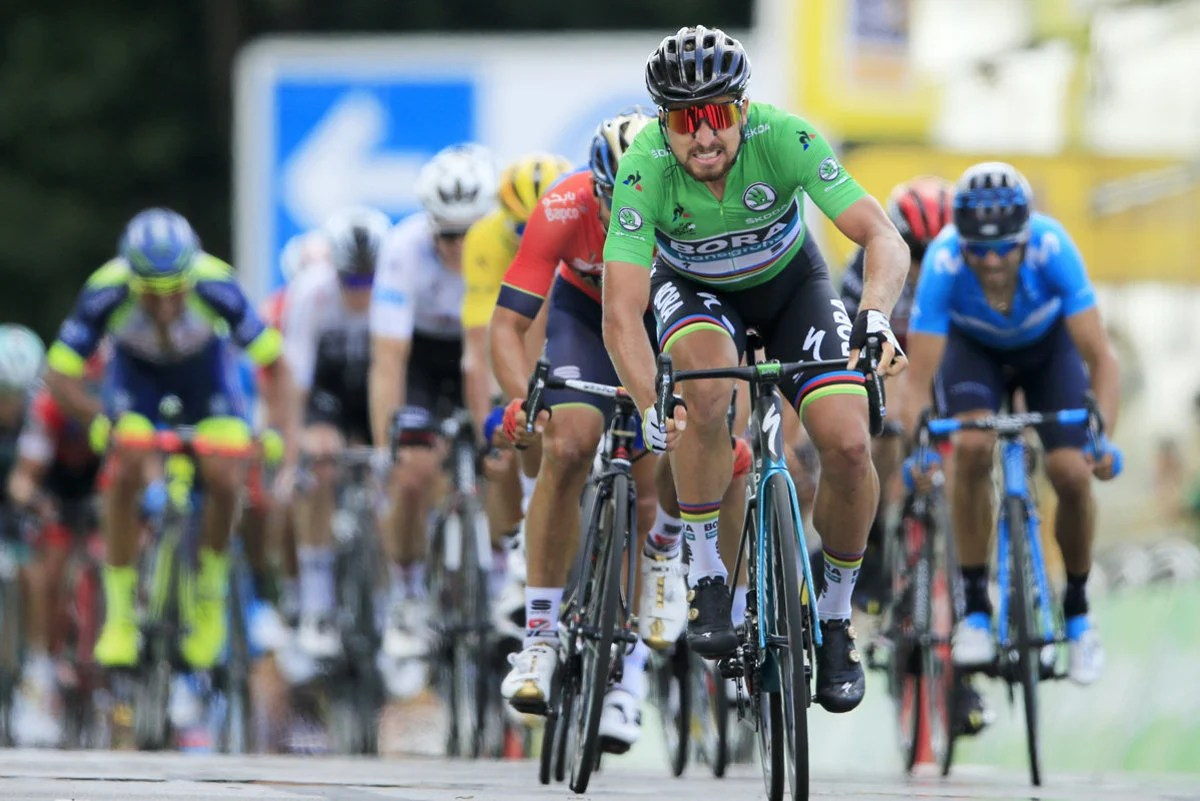 Sagan won the fifth Tour de France stage   spectator sme sk Sagan is cycling to victory in the fifth stage of Tour de France 2018    Source  AP TASR
