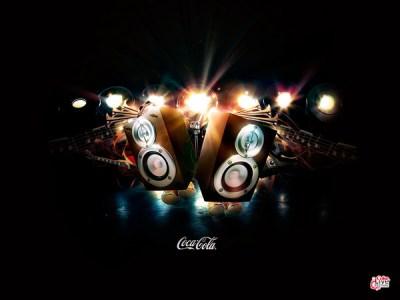 Coke Live Music Festival Wallpaper #2 on Behance