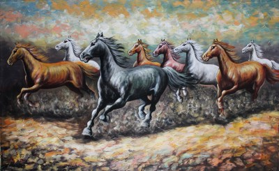 Stunning Horse Painting | Mad About Bali Paintings