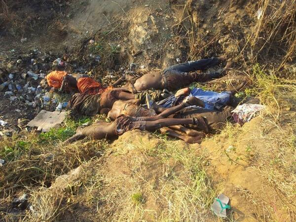 Have a Look at More Gruesome Images of the Ongoing Massacre/Genocide in South Sudan [VIEWER ...