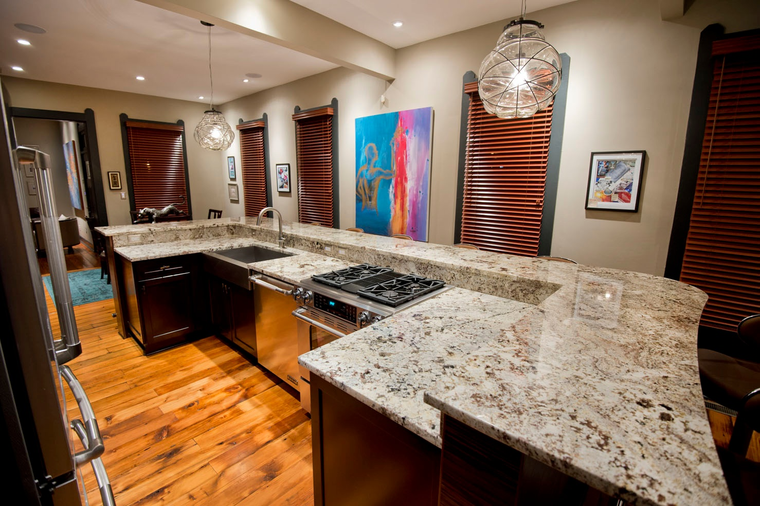 granite marble kitchen countertops granite kitchen countertops indianapolis granite countertops Ice Brown Granite Kitchen