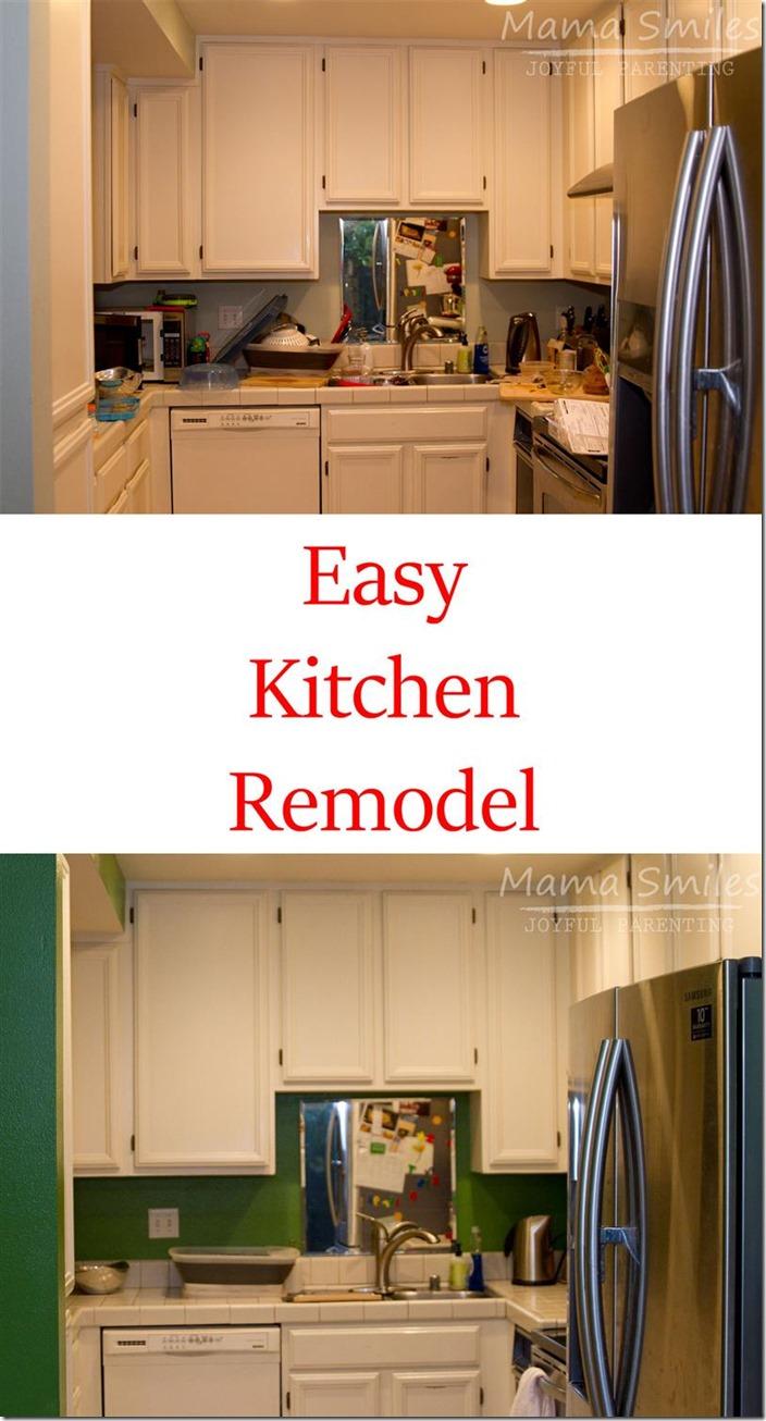 diy kitchen remodel add color diy kitchen remodel Easy DIY Kitchen Remodel Add Color