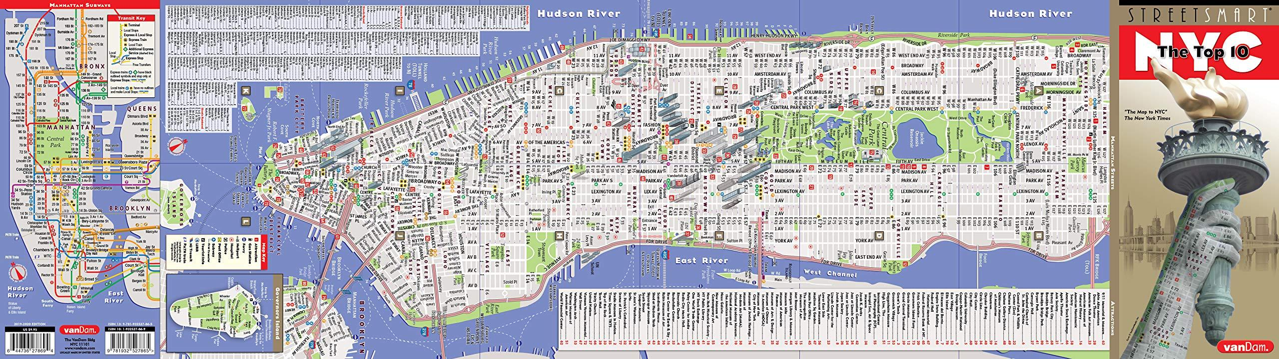 New York street map   Map of streets of New York City  New York   USA  Map of streets of New York City